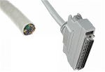 Open-ended Cable with SCSI Type Connector to Panel (6 feet)